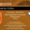 Escuchá en directo el partido Villa Española vs Huracán
