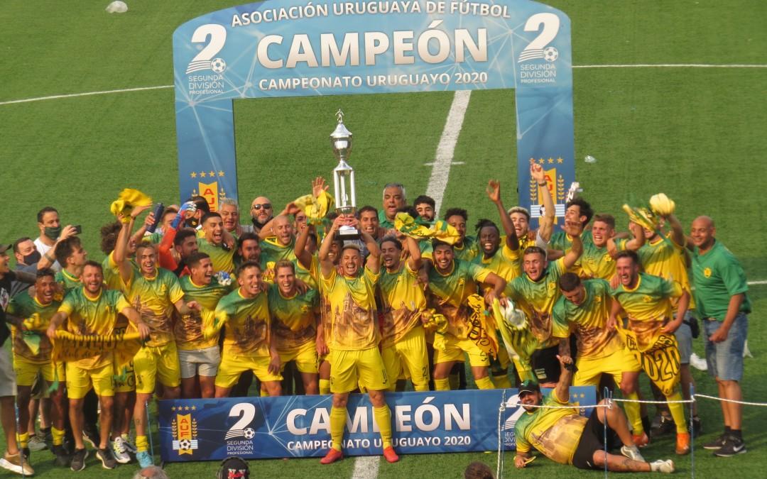 Cerrito se proclamó Campeón de la Segunda División  !!!