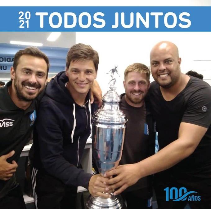 Gaston De los Santos seguirá siendo el entrenador de Uruguay Montevideo