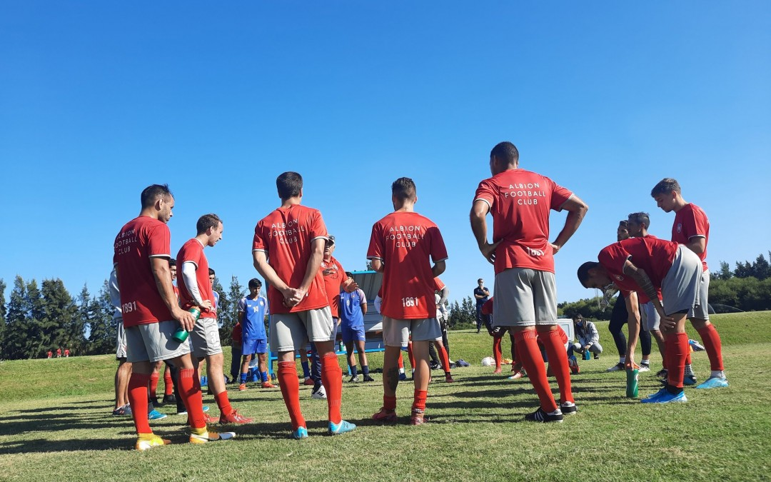 Albion F.C. igualó con la Mutual 1 a 1