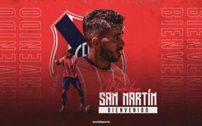 Central Español: Maximiliano San Martin es la 14a incorporación.