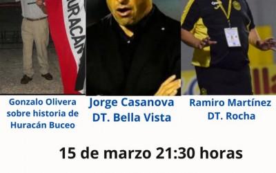Este lunes en Rumbo al Ascenso: Gonzalo Olivera, Jorge Casanova y Ramiro Martinez