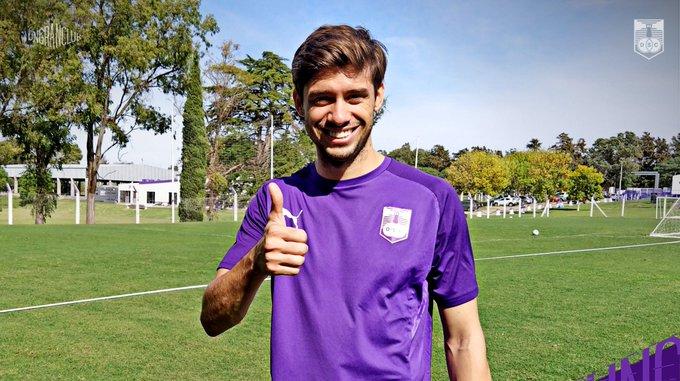 Defensor Sporting: Matias Cabrera vuelve a vestirse la violeta.