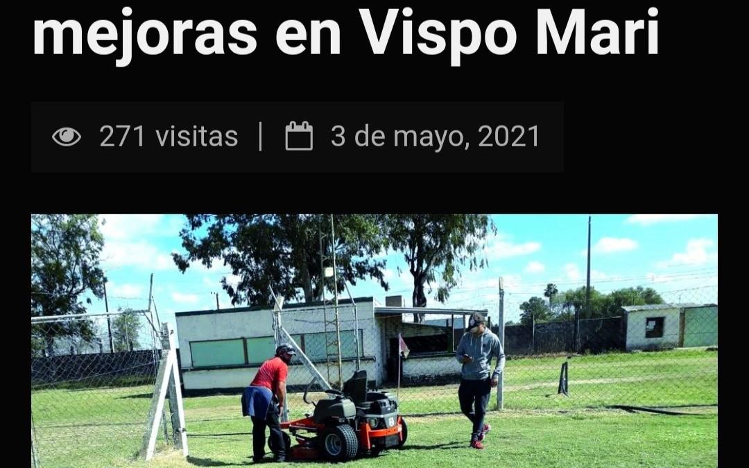 Salto F.C.: Trabaja incansablemente en su Estadio Juan José Vispo Mari